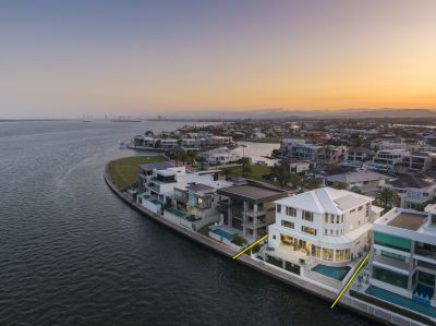 Exemplary Four Story Opulence With Unrivalled Broadwater Views