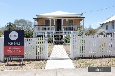 STUNNING REFURBISHED QUEENSLANDER ON SPACIOUS BLOCK WITH MASSIVE SHED