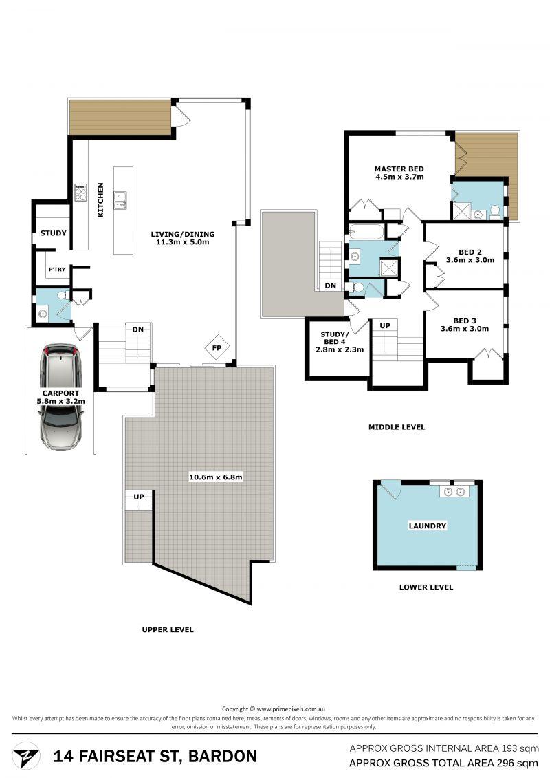 14 Fairseat Street Bardon 4065