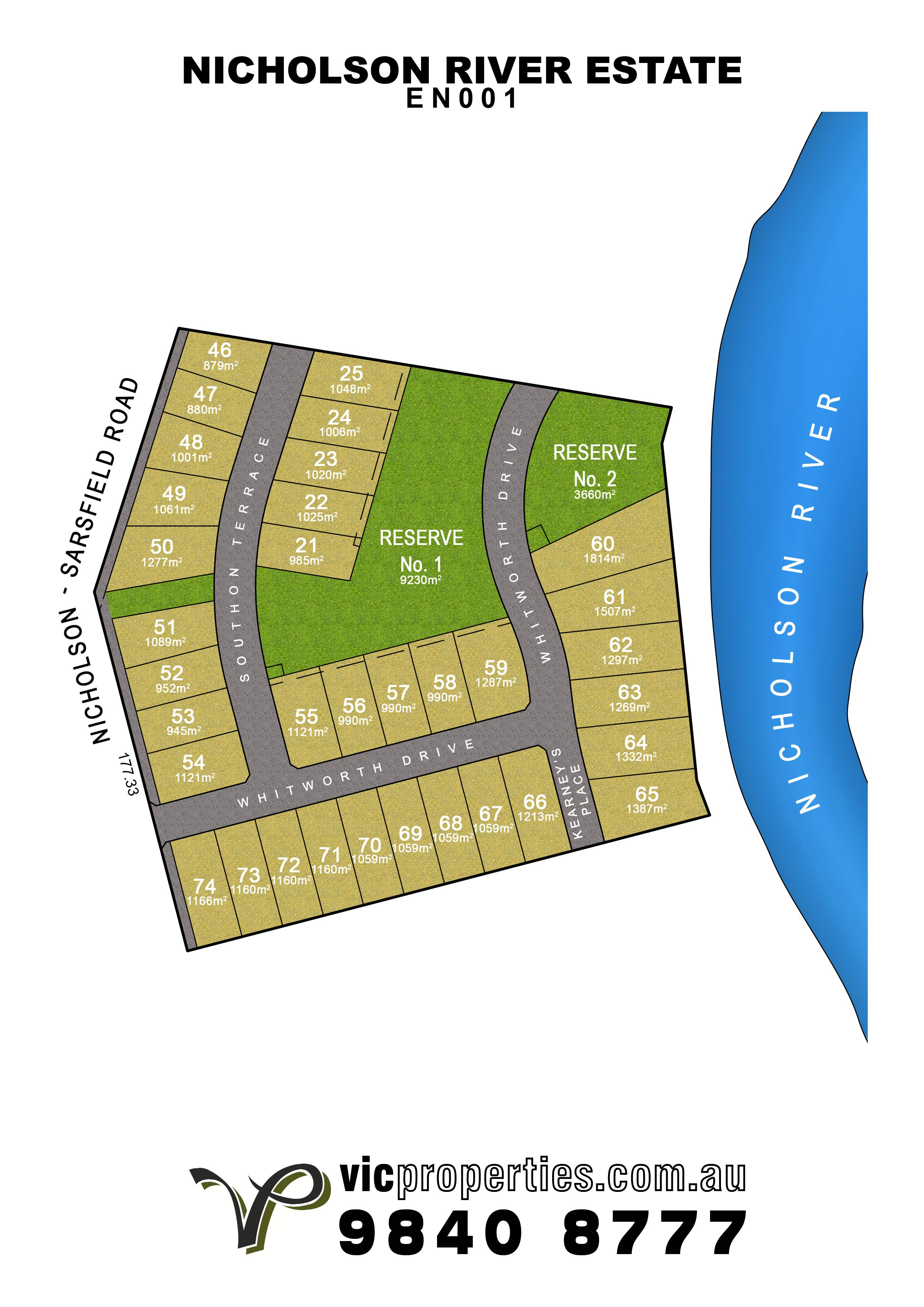 Lot 71/8 Whitworth Drive, Nicholson VIC 3882