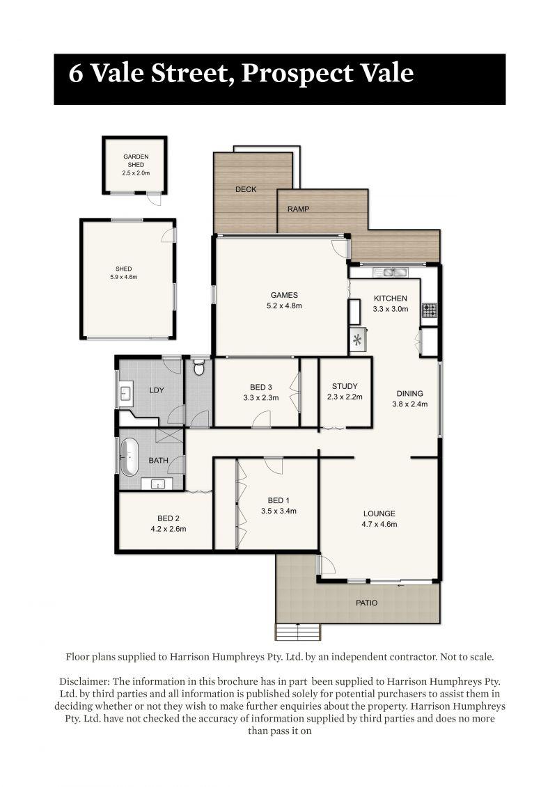 6 Vale Street Floorplan