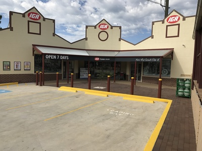 Main shopping precinct of Kurrajong Heights NSW