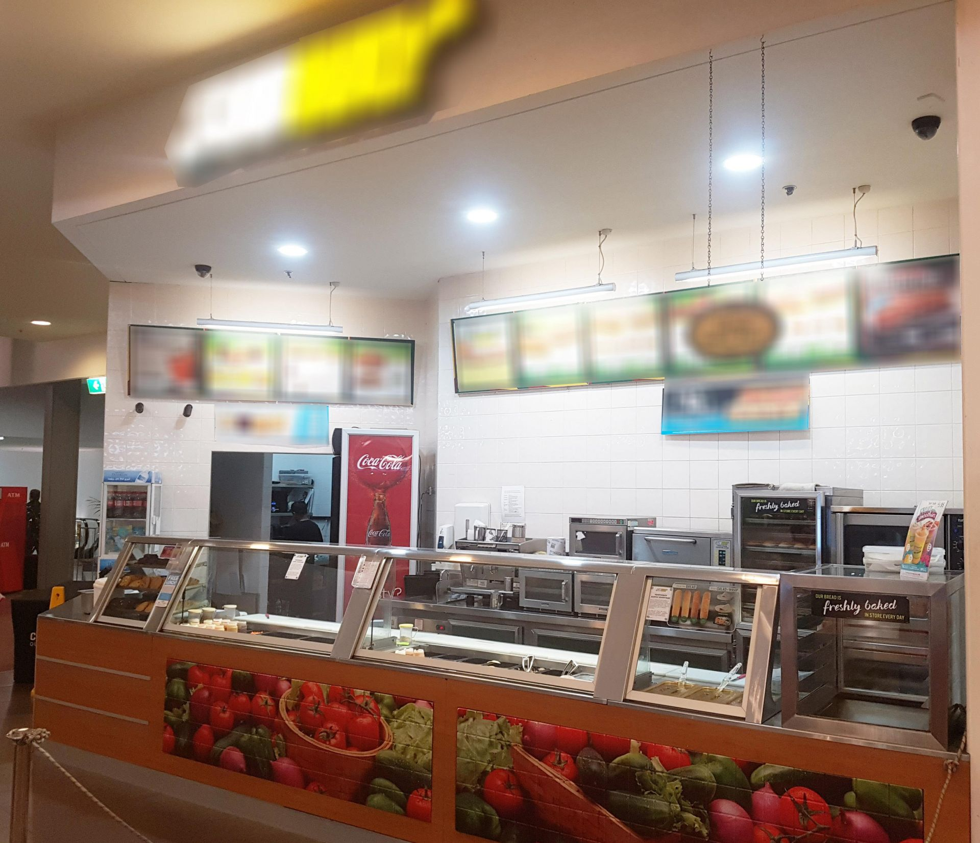 Sub Franchise - High Volume & Low Rent Food Court Location ACT