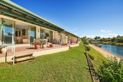 North Facing Single Level Waterfront Villa!