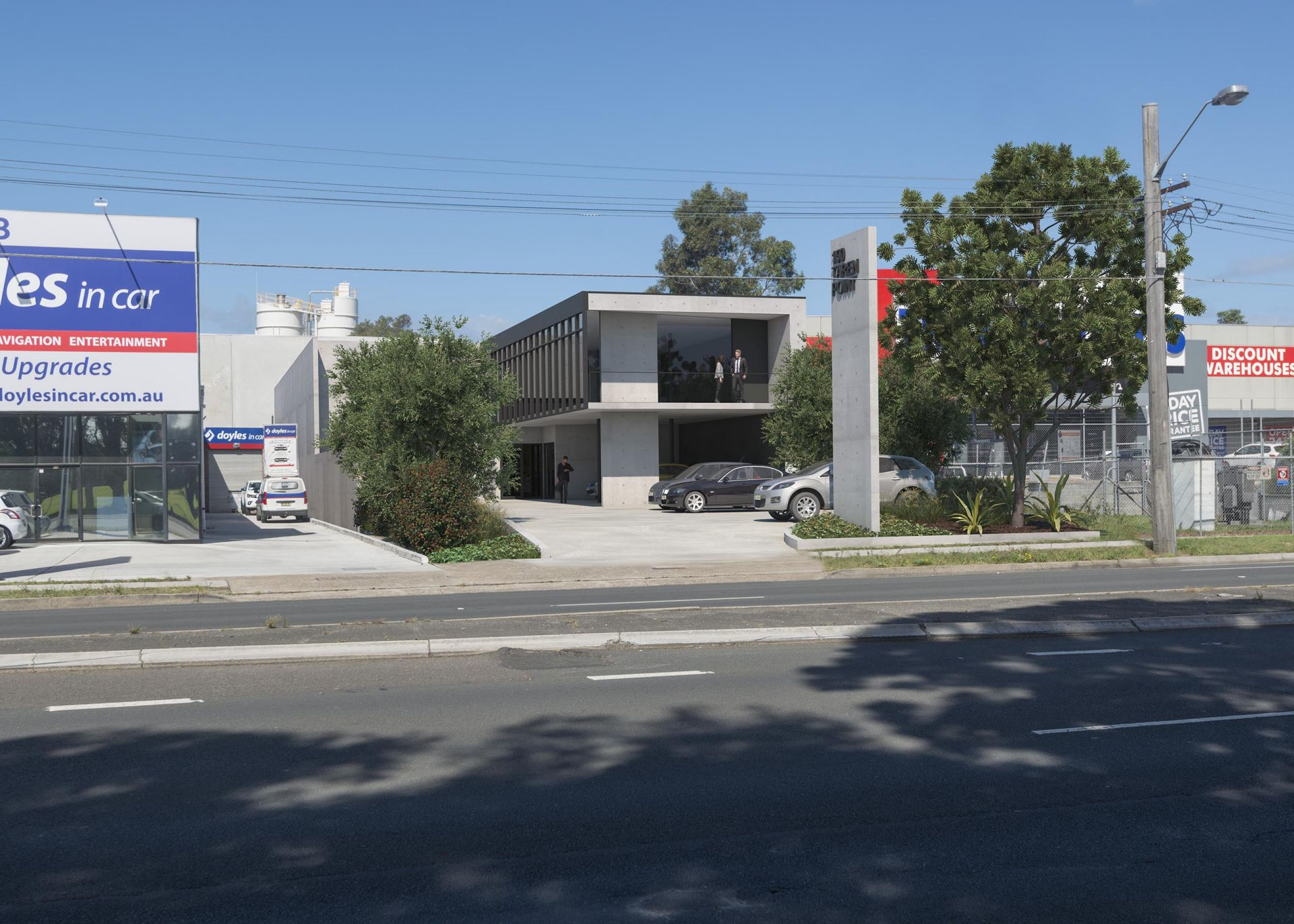 SHOWROOM/WAREHOUSE - BRAND NEW - TAREN POINT ROAD