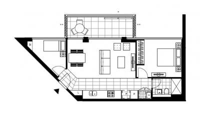 1 Bedroom plus Bedroom-Like Study