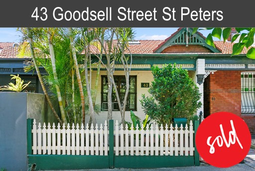 Purchaser of 43 Goodsell St St Peters