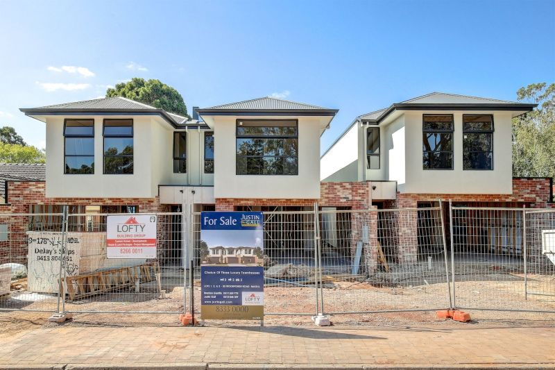 Choice Of Three Luxury Townhouses Already Under Construction - Available June 2020