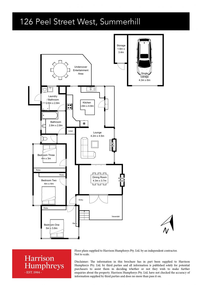 126 Peel Street West Floorplan