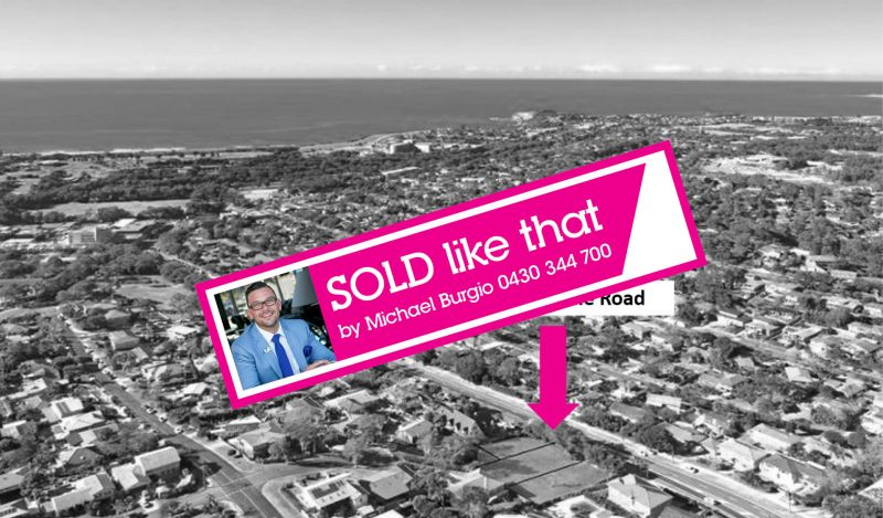 SOLD BY MICHAEL BURGIO 0430 344 700,  EXCLUSIVE GATED COMMUNITY DEVELOPMENT FOR 3 LUXURY HOMES!