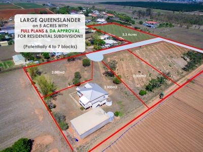 CLASSIC QUEENSLANDER on 5 ACRES WITH HUGE SUBDIVISION POTENTIAL!