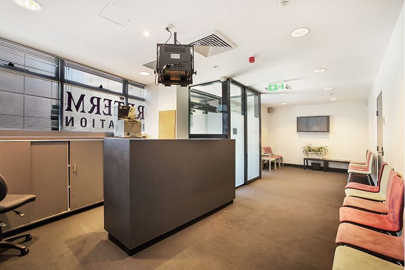 Corner Showroom With Medical Fit out