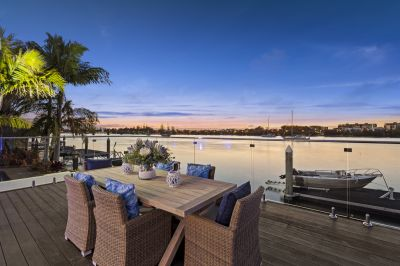 Ultimate Queensland Lifestyle Home Situated On Open Water Frontage.