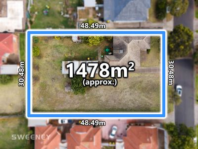 Developers Delight! 1478M2 (approx) Of Land In Residential Growth Zone