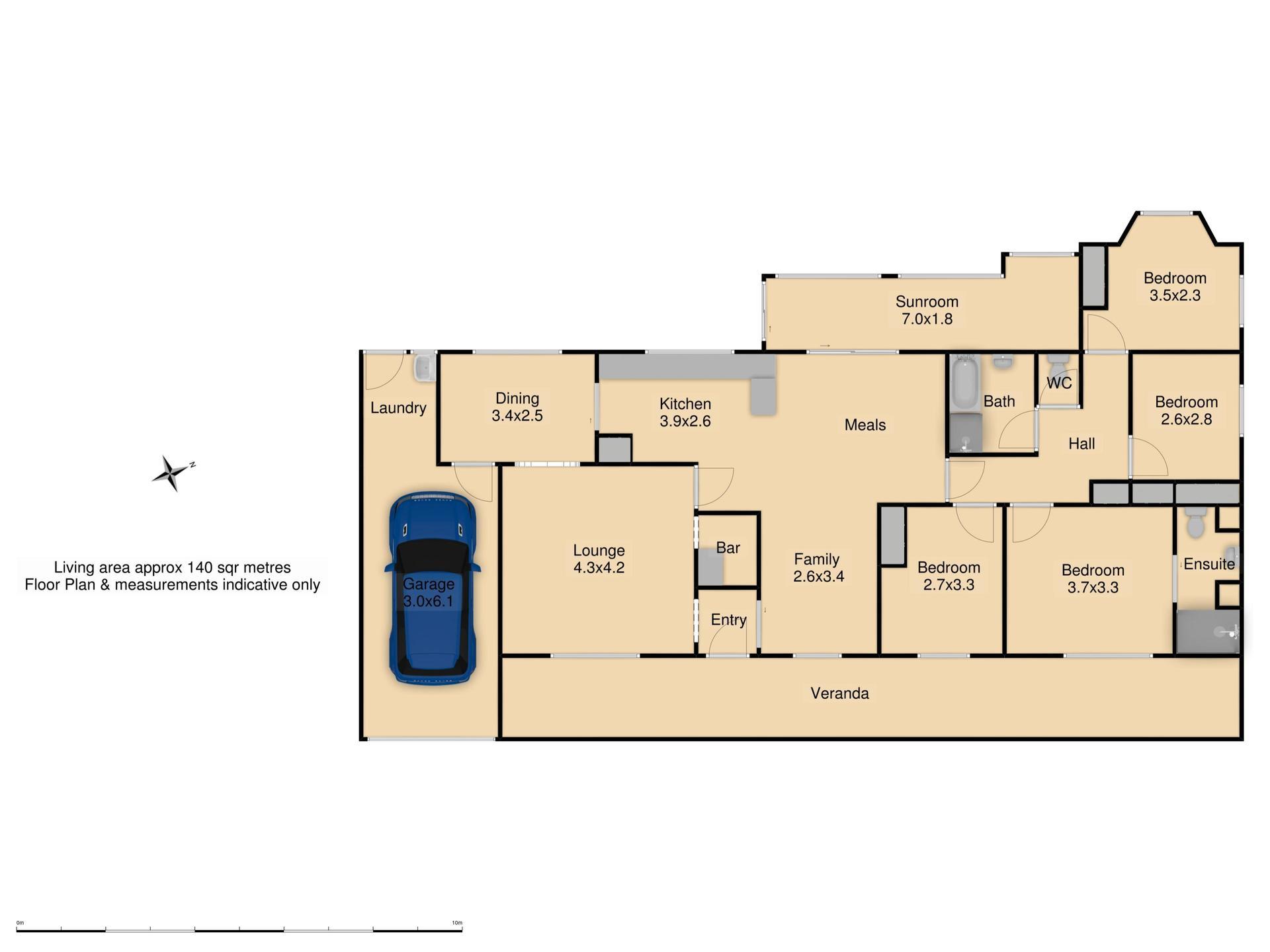 17 The Overflow - Floor Plan