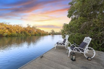 SIZE, SPACE & TRANQUILLITY! NORTH TO WATER WITH PONTOON