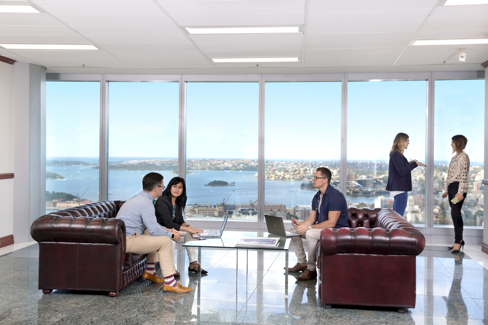 PRIME LOCATION OFFICES IN SYDNEY WITH EXCELLENT NATURAL VIEWS