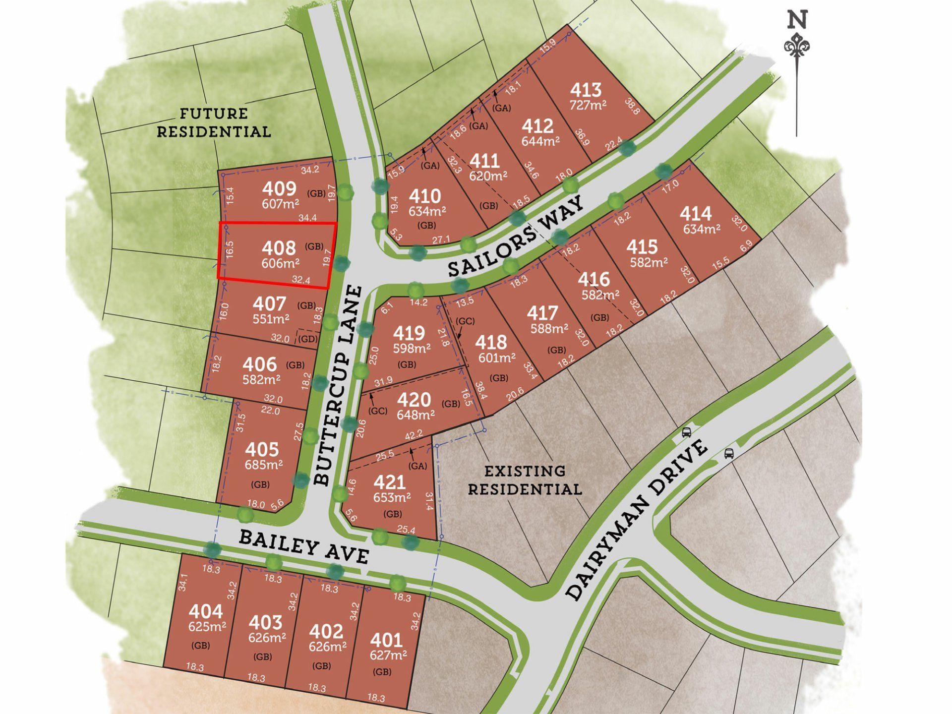 Lot 408 Buttercup Lane RAYMOND TERRACE 2324
