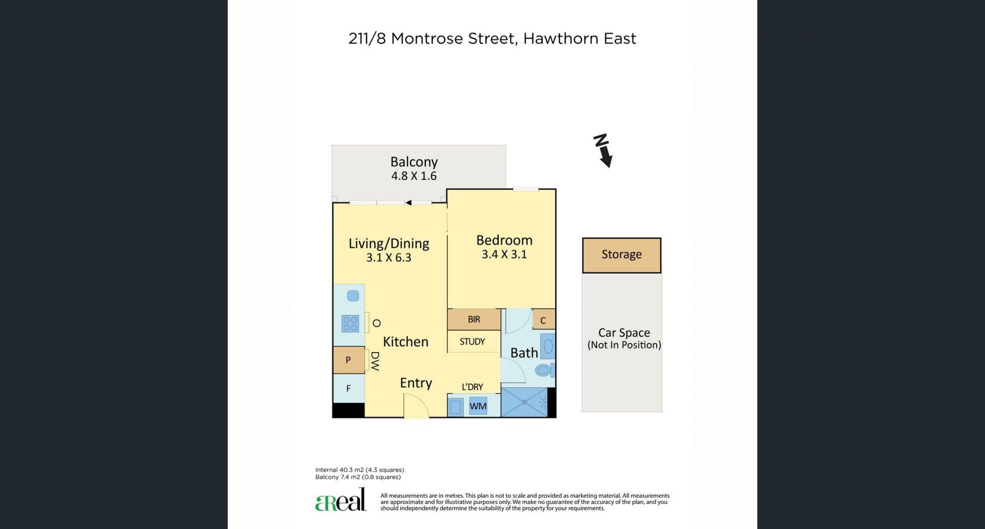 211/8 Montrose St, Hawthorn East VIC