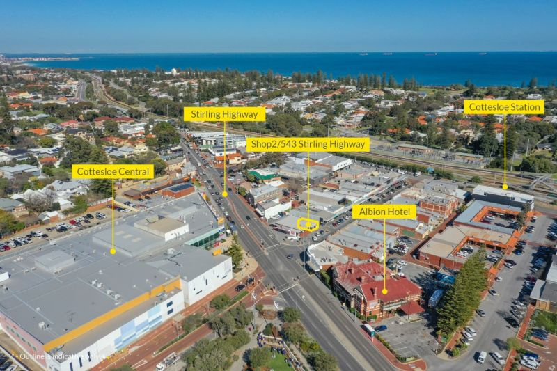 Be a part of Cottesloe's vibrant cafe and shopping strip!