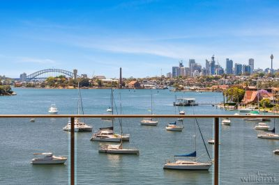 BREATHTAKING VIEWS HARBOUR BRIDGE AND CITY SKYLINE   SUPERBLY RENOVATED