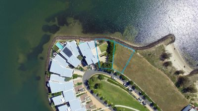 Buy one or buy them both! Prime waterfront land!
