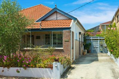 SOLD: Perfect Location - Double Brick & Tile 1920's Cottage