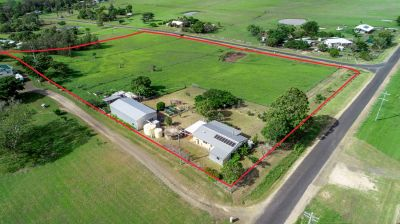 SOLID BRICK HOME WITH HUGE SHED ON 5 ACRES WITH RURAL OUTLOOK!