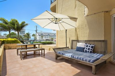 Ground Floor Unfurnished Apartment with Ocean Views
