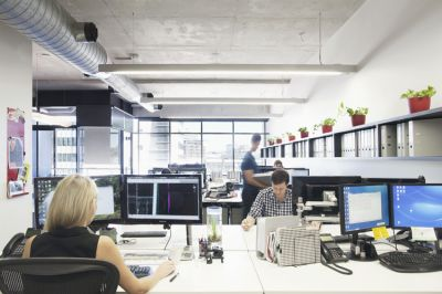 125M2 STYLISH OFFICE WITH POLISHED CONCRETE FLOORS!
