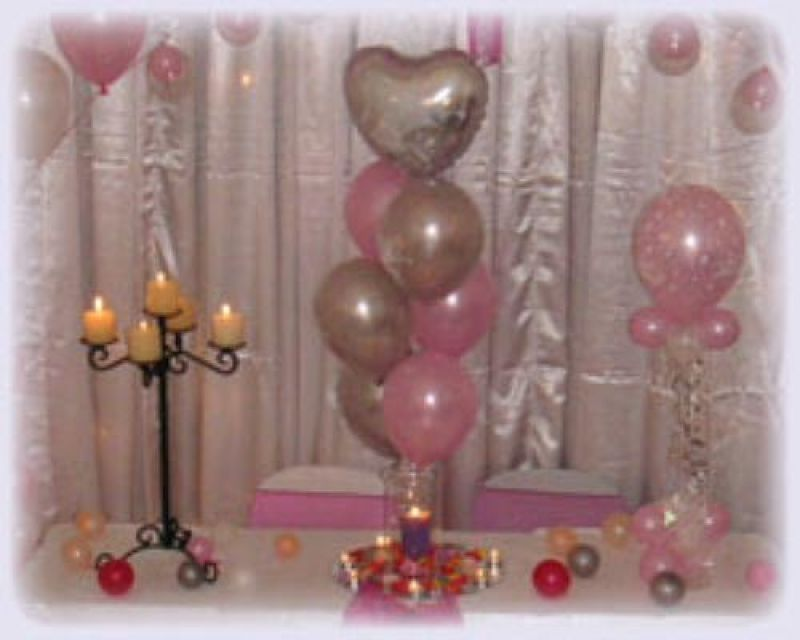 Balloons and Blooms