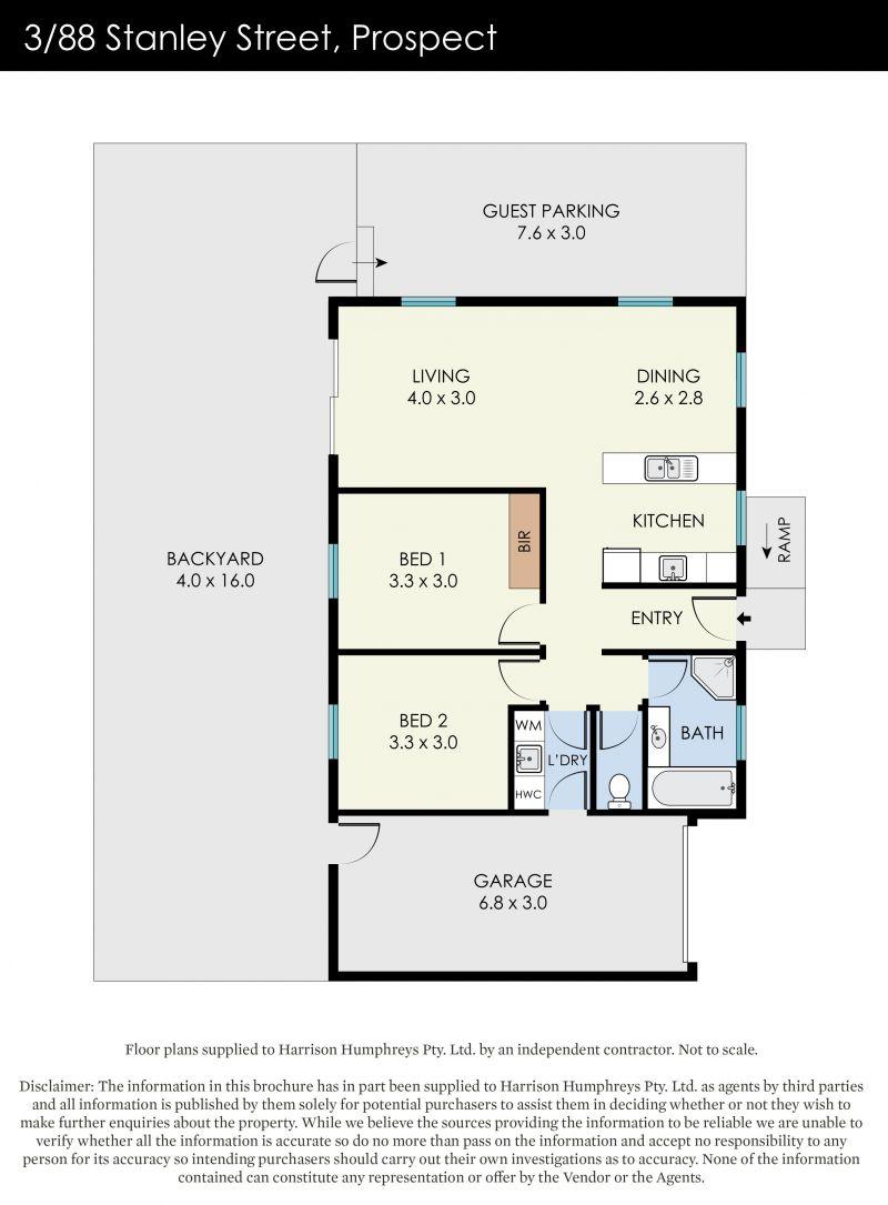88 Stanley Street Floorplan