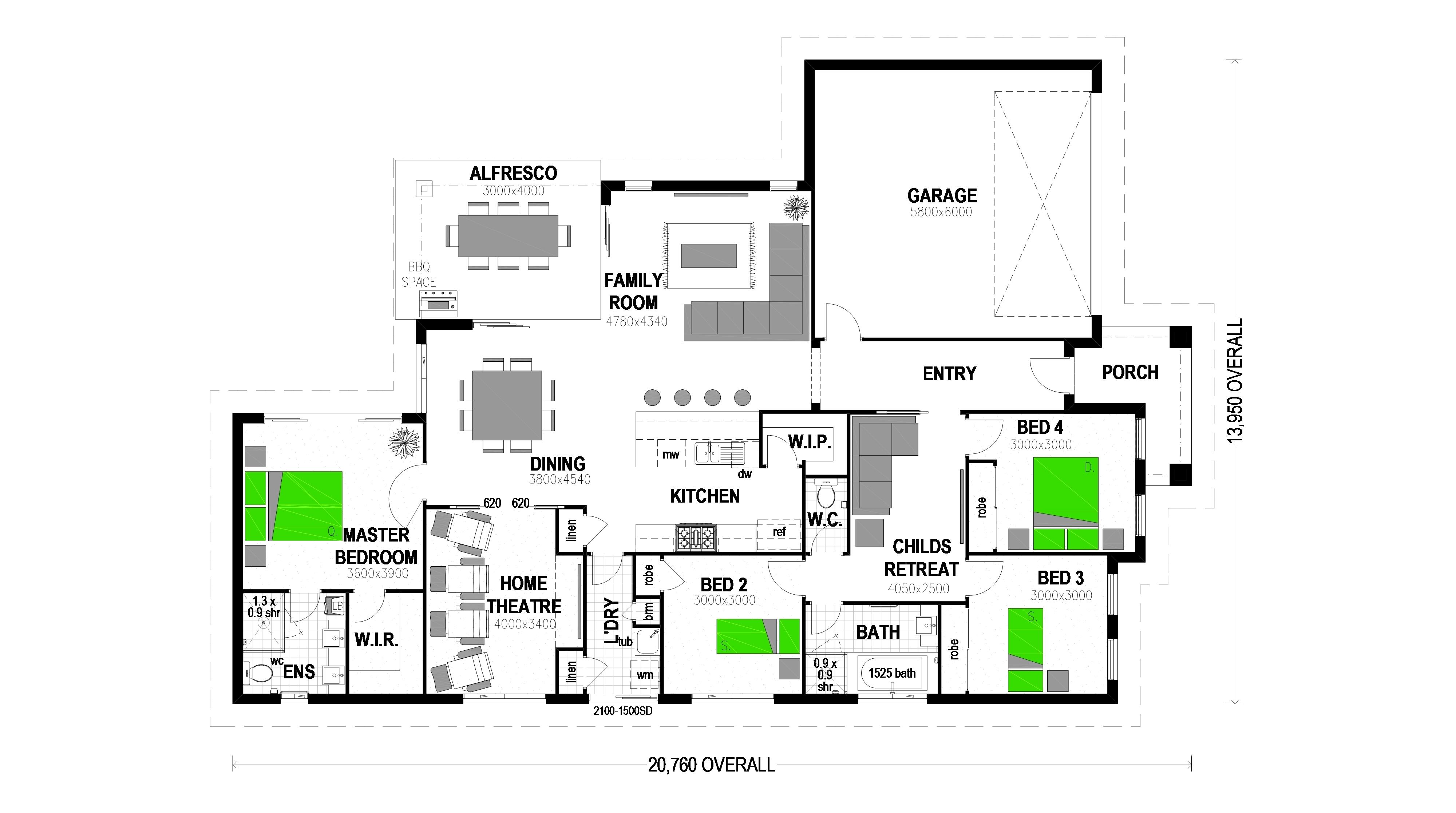 LOT 114 HAYFIELD ESTATE RIPLEY Floorplan