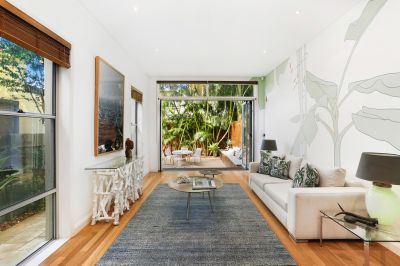 Beautifully Renovated, Quintessential Bondi Beach Home offers Tranquil Enclave, Elegant Designer Finishes and Off-Street Parking