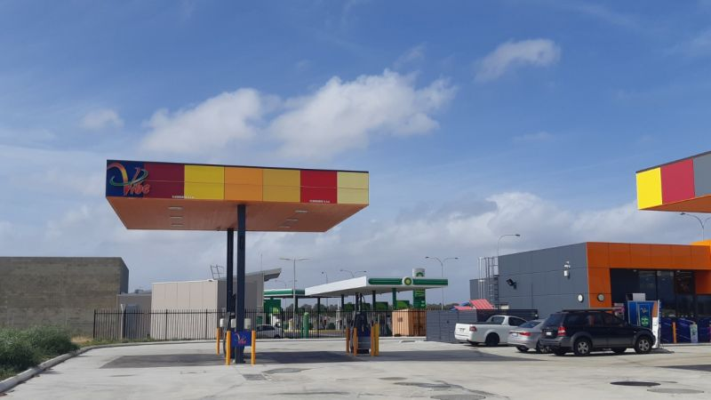 New 15 Year Leased Service Station