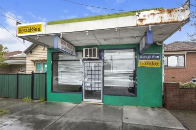 Dual Street Frontage and Possibly Dual Opportunity