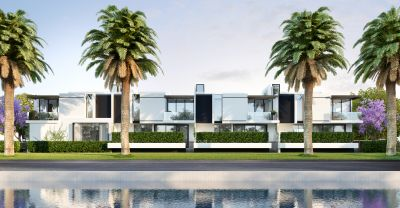 Striking contemporary residence designed in perfect context with its prestigious waterfront setting with panoramic views !