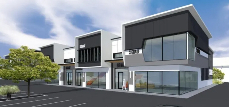 FOR SALE OR LEASE – BRAND NEW 419sqm Office/Warehouse