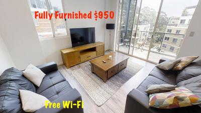 Fully Furnished 2Bedrooms and 2Bathrooms apartment in Wolli Creek