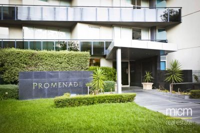 The Promenade: Two Bedroom Apartment at Second Top Floor!
