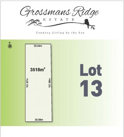 Lot 13/460 Grossmans Road, BELLBRAE