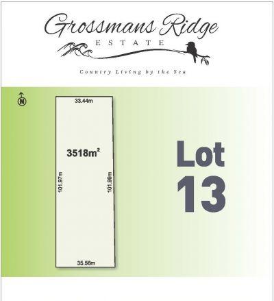 Lot 13/460 Grossmans Road, BELLBRAE