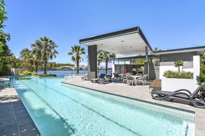 A RARE Find Free Standing Stunner Water Views in Runaway Lagoons