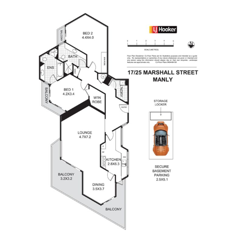 17/25 Marshall Street Manly 2095