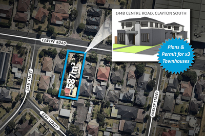 PLANS & PERMIT FOR X3 TOWNHOUSES