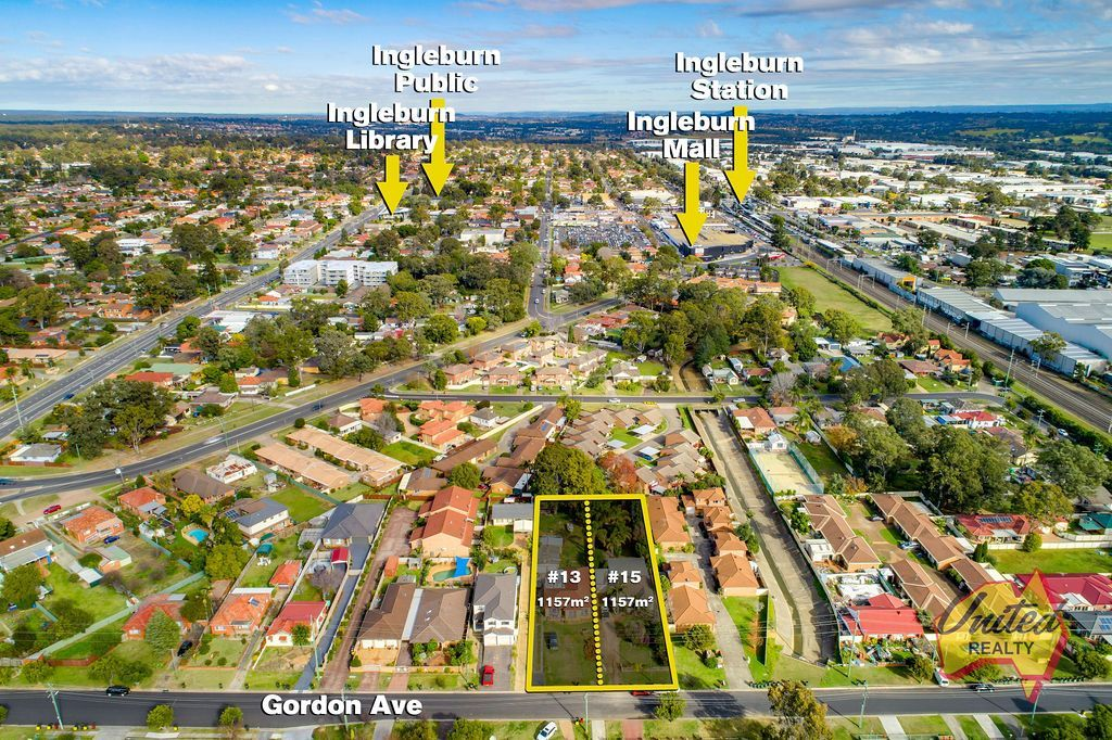 13 & 15 Gordon Avenue Ingleburn 2565