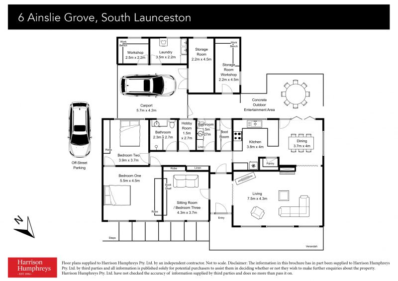 6 Ainslie Grove Floorplan