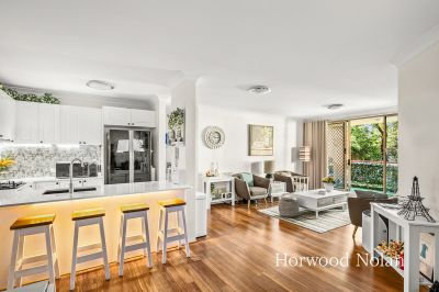 Impeccably renovated apartment in sought after location