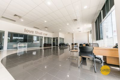 Best located showroom with customer parking in Cardiff CBD