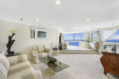AMAZING OCEAN VIEWS! RARELY AVAILABLE FRONT POSITION IN THE BUILDING!